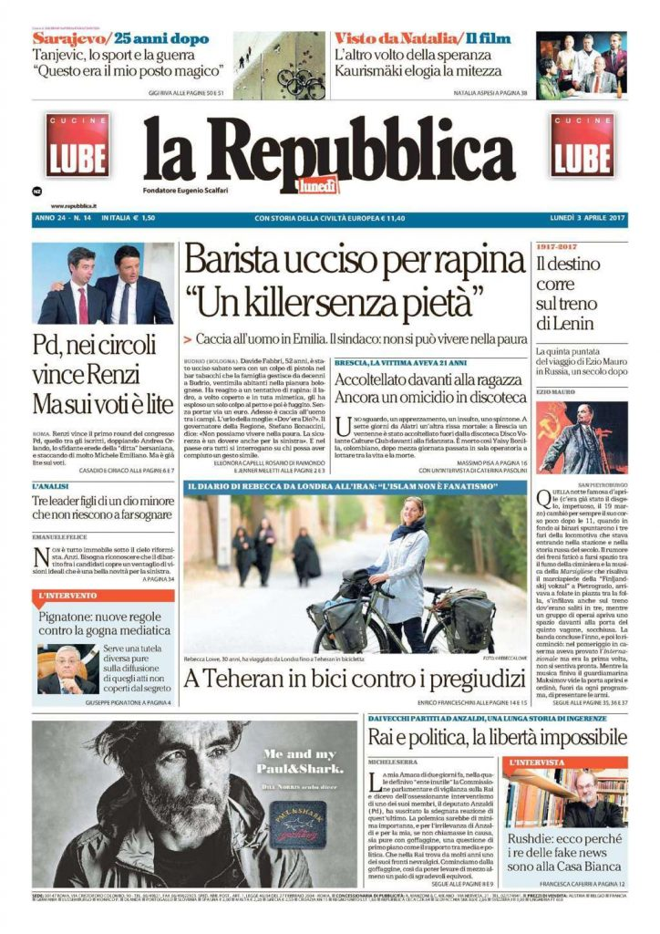 Media bahasa Italia di Amerika